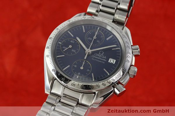Used luxury watch Omega Speedmaster chronograph steel automatic Kal. 1152  | 142539 04