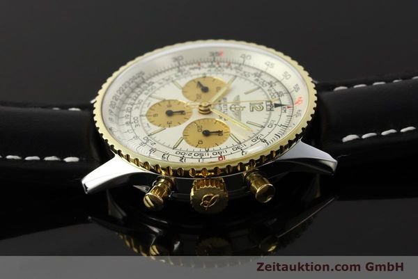 Used luxury watch Breitling Navitimer chronograph steel / gold manual winding Kal. LWO 1873 Ref. 81600  | 142540 05