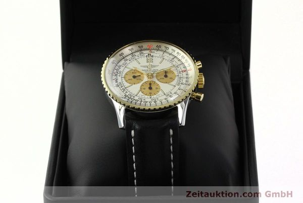 Used luxury watch Breitling Navitimer chronograph steel / gold manual winding Kal. LWO 1873 Ref. 81600  | 142540 07
