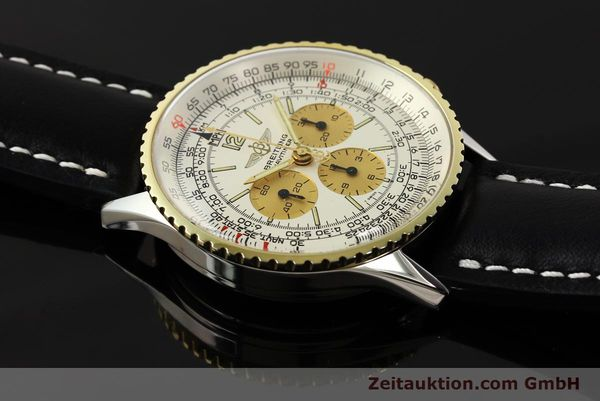 Used luxury watch Breitling Navitimer chronograph steel / gold manual winding Kal. LWO 1873 Ref. 81600  | 142540 13