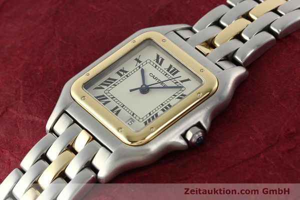 Used luxury watch Cartier Panthere steel / gold quartz Ref. PL101081100  | 142541 01