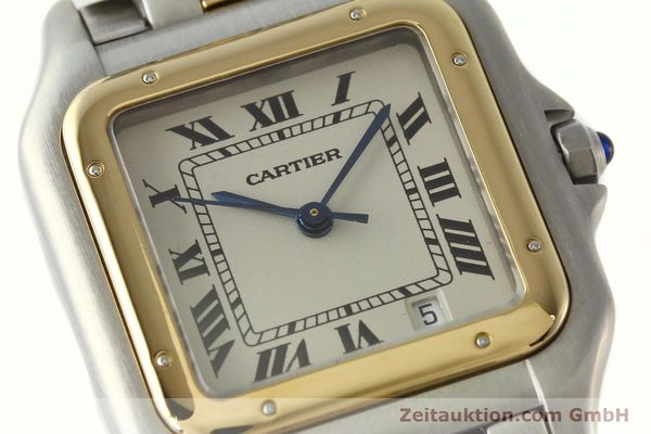 Used luxury watch Cartier Panthere steel / gold quartz Ref. PL101081100  | 142541 02