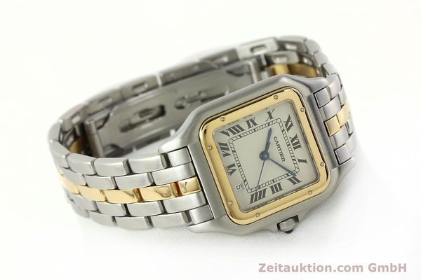 Used luxury watch Cartier Panthere steel / gold quartz Ref. PL101081100  | 142541 03