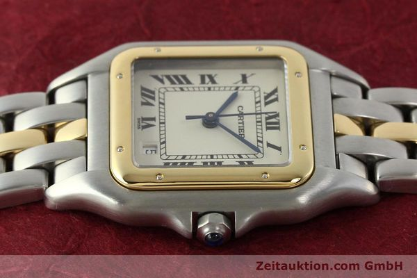 Used luxury watch Cartier Panthere steel / gold quartz Ref. PL101081100  | 142541 05