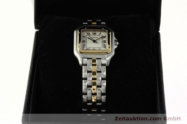 Used luxury watch Cartier Panthere steel / gold quartz Ref. PL101081100  | 142541 07
