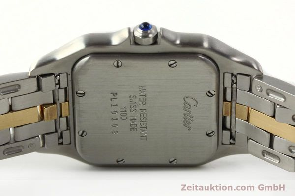 Used luxury watch Cartier Panthere steel / gold quartz Ref. PL101081100  | 142541 09