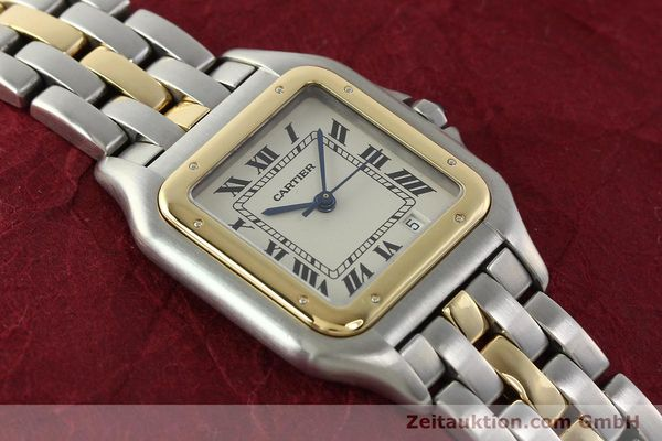 Used luxury watch Cartier Panthere steel / gold quartz Ref. PL101081100  | 142541 13