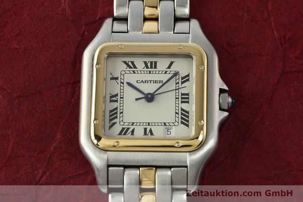 Used luxury watch Cartier Panthere steel / gold quartz Ref. PL101081100  | 142541 14