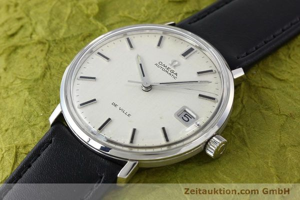 Used luxury watch Omega De Ville steel automatic Kal. 565  | 142549 01