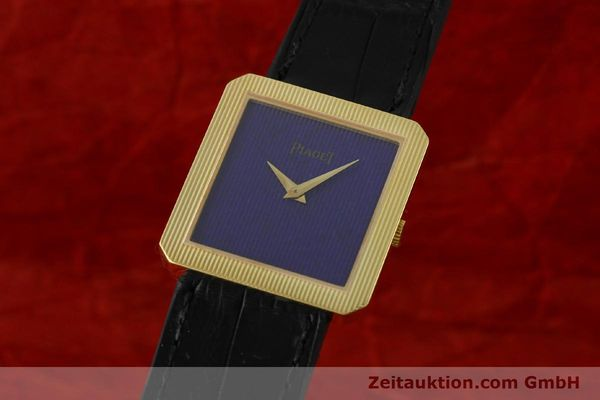 Used luxury watch Piaget * 18 ct gold manual winding Kal. 9P2 Ref. 9154  | 142550 04