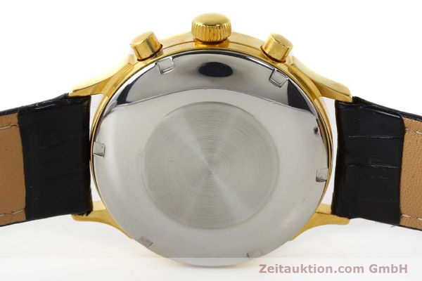 Used luxury watch Chronoswiss A. Rochat chronograph gold-plated automatic Kal. Valj. 7750 Ref. 77.400  | 142551 09