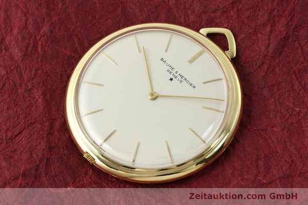 Used luxury watch Baume & Mercier * 18 ct gold manual winding Kal. AV 4200  | 142557 01