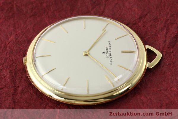 Used luxury watch Baume & Mercier * 18 ct gold manual winding Kal. AV 4200  | 142557 03