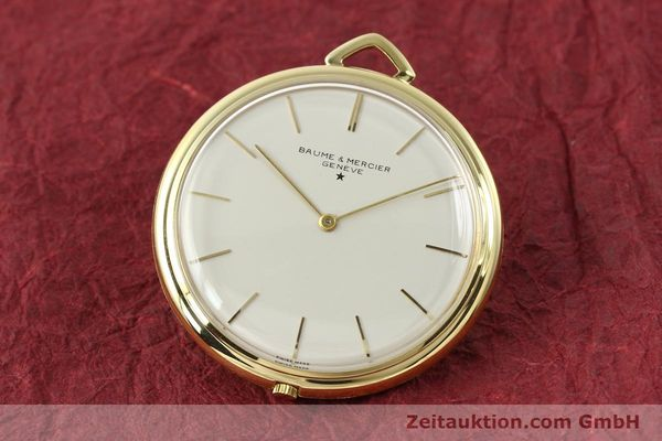 Used luxury watch Baume & Mercier * 18 ct gold manual winding Kal. AV 4200  | 142557 04