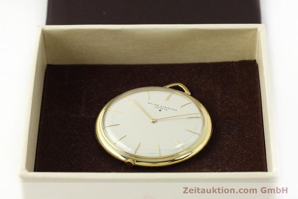 Used luxury watch Baume & Mercier * 18 ct gold manual winding Kal. AV 4200  | 142557 07