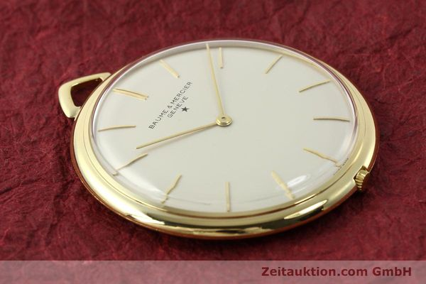 Used luxury watch Baume & Mercier * 18 ct gold manual winding Kal. AV 4200  | 142557 13