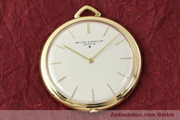 Used luxury watch Baume & Mercier * 18 ct gold manual winding Kal. AV 4200  | 142557 14