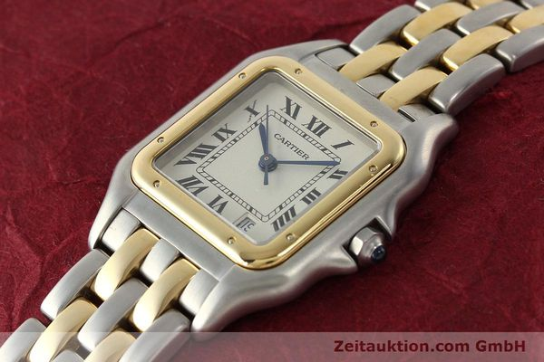 Used luxury watch Cartier Panthere steel / gold quartz Kal. 87.06  | 142560 01