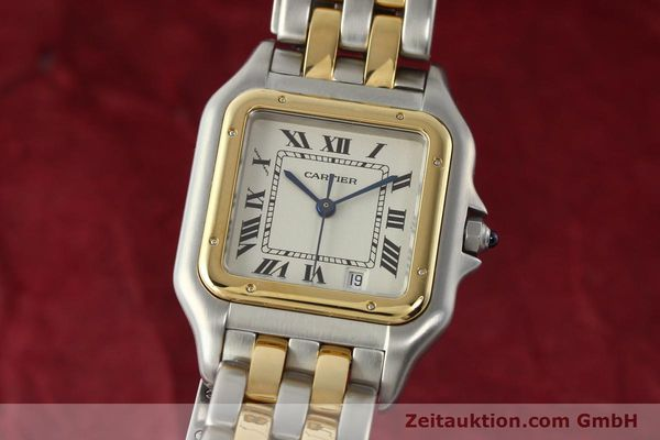 Used luxury watch Cartier Panthere steel / gold quartz Kal. 87.06  | 142560 04