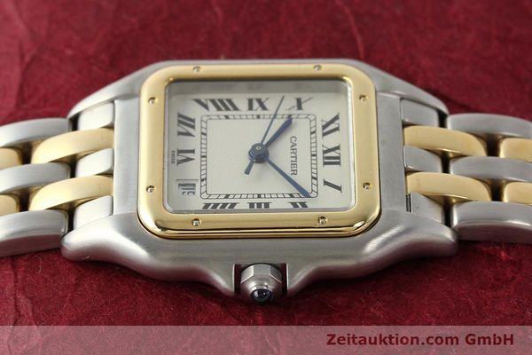 Used luxury watch Cartier Panthere steel / gold quartz Kal. 87.06  | 142560 05
