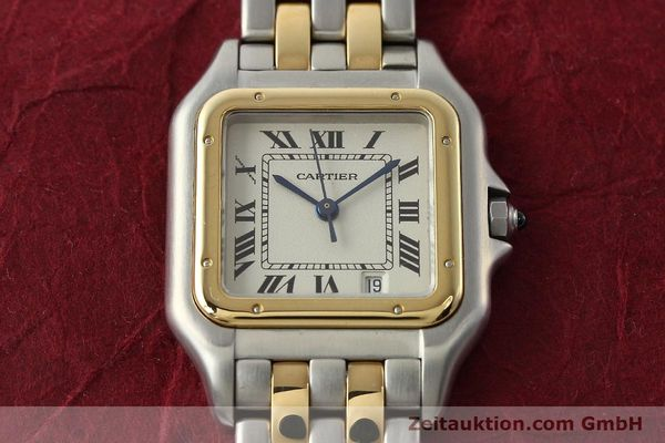 Used luxury watch Cartier Panthere steel / gold quartz Kal. 87.06  | 142560 13