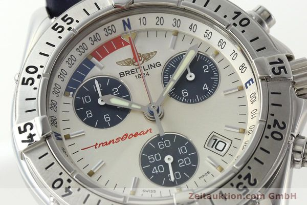 Used luxury watch Breitling Transocean chronograph steel quartz Kal. B53 Ref. A53040.1  | 142564 02