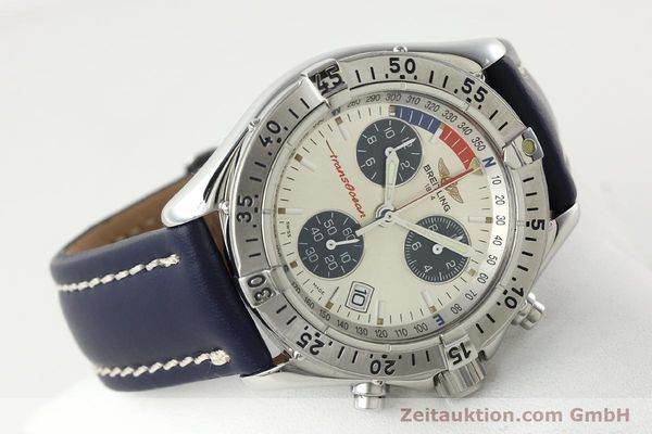 Used luxury watch Breitling Transocean chronograph steel quartz Kal. B53 Ref. A53040.1  | 142564 03