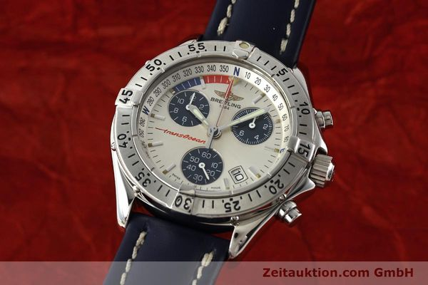 Used luxury watch Breitling Transocean chronograph steel quartz Kal. B53 Ref. A53040.1  | 142564 04