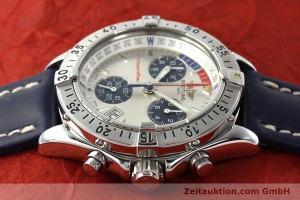 Used luxury watch Breitling Transocean chronograph steel quartz Kal. B53 Ref. A53040.1  | 142564 05