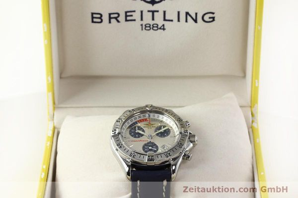 Used luxury watch Breitling Transocean chronograph steel quartz Kal. B53 Ref. A53040.1  | 142564 07