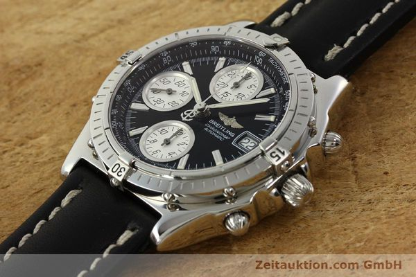 Used luxury watch Breitling Chronomat chronograph steel automatic Kal. B13 ETA 7750 Ref. A13050.1  | 142565 01