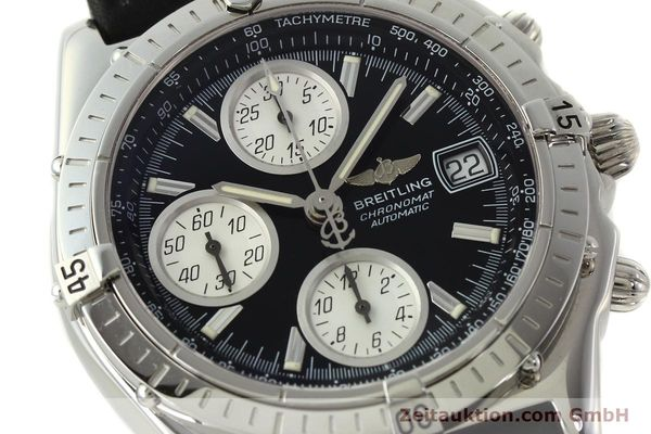 Used luxury watch Breitling Chronomat chronograph steel automatic Kal. B13 ETA 7750 Ref. A13050.1  | 142565 02