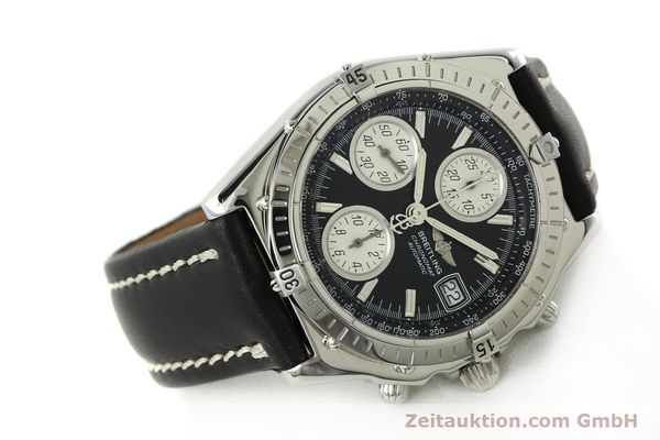 Used luxury watch Breitling Chronomat chronograph steel automatic Kal. B13 ETA 7750 Ref. A13050.1  | 142565 03