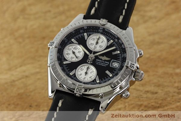 Used luxury watch Breitling Chronomat chronograph steel automatic Kal. B13 ETA 7750 Ref. A13050.1  | 142565 04