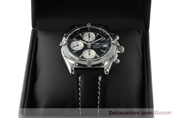 Used luxury watch Breitling Chronomat chronograph steel automatic Kal. B13 ETA 7750 Ref. A13050.1  | 142565 07