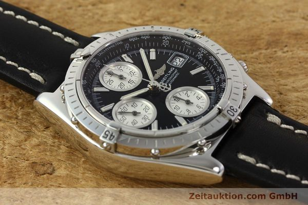 Used luxury watch Breitling Chronomat chronograph steel automatic Kal. B13 ETA 7750 Ref. A13050.1  | 142565 16