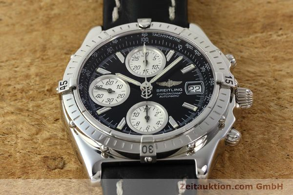 Used luxury watch Breitling Chronomat chronograph steel automatic Kal. B13 ETA 7750 Ref. A13050.1  | 142565 17