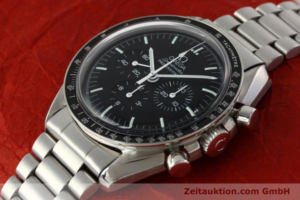 Used luxury watch Omega Speedmaster chronograph steel manual winding Kal. 881  | 142566 01