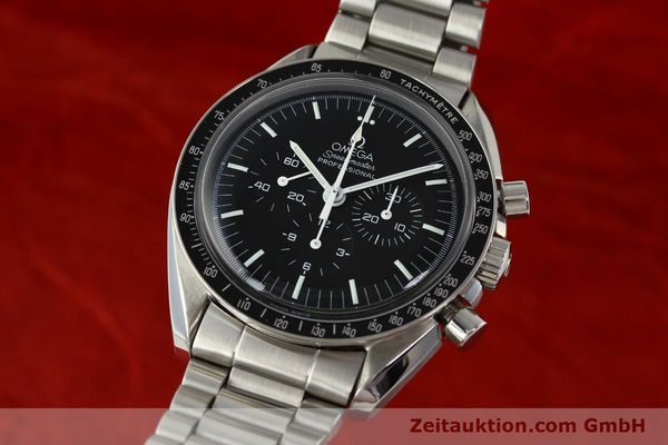 Used luxury watch Omega Speedmaster chronograph steel manual winding Kal. 881  | 142566 04