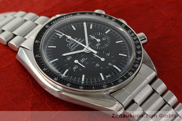 Used luxury watch Omega Speedmaster chronograph steel manual winding Kal. 881  | 142566 15