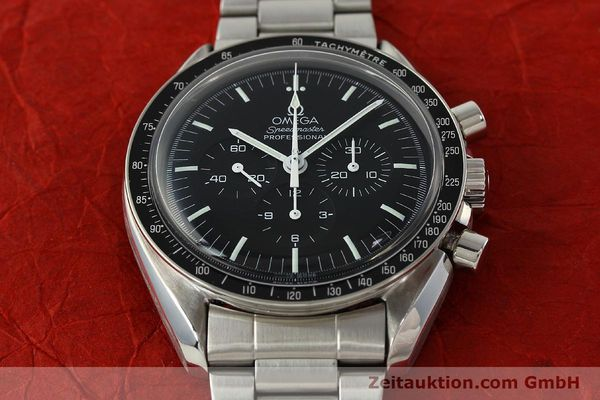 Used luxury watch Omega Speedmaster chronograph steel manual winding Kal. 881  | 142566 16