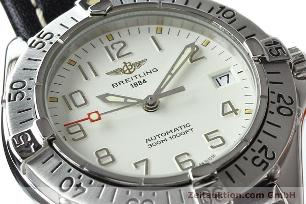 Used luxury watch Breitling Colt steel automatic Kal. B17 ETA 2824-2 Ref. A17035  | 142570 02