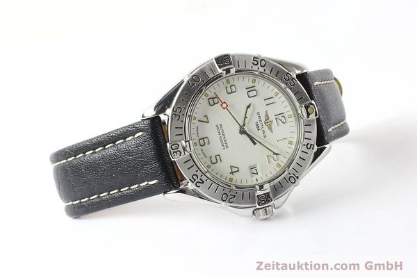 Used luxury watch Breitling Colt steel automatic Kal. B17 ETA 2824-2 Ref. A17035  | 142570 03