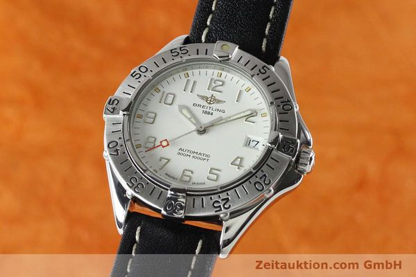 Used luxury watch Breitling Colt steel automatic Kal. B17 ETA 2824-2 Ref. A17035  | 142570 04