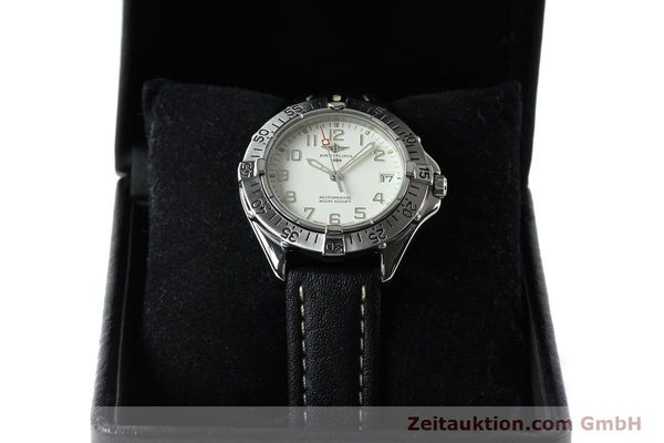 Used luxury watch Breitling Colt steel automatic Kal. B17 ETA 2824-2 Ref. A17035  | 142570 07