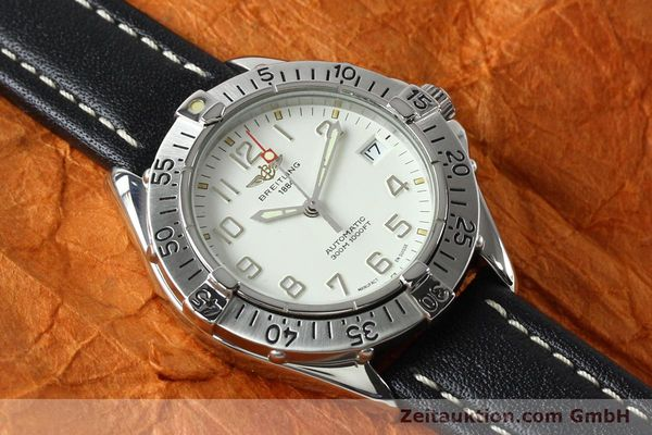 Used luxury watch Breitling Colt steel automatic Kal. B17 ETA 2824-2 Ref. A17035  | 142570 13