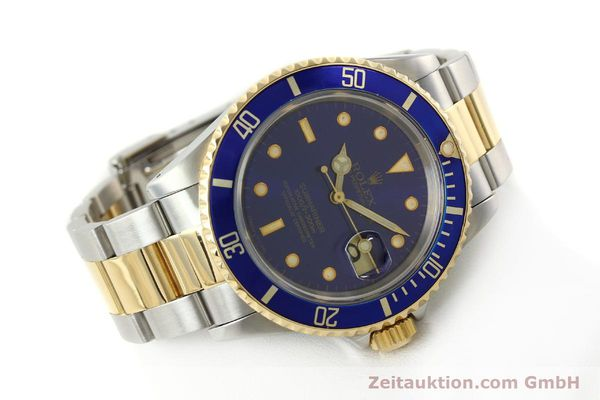 Used luxury watch Rolex Submariner steel / gold automatic Kal. 3135 Ref. 16613  | 142572 03
