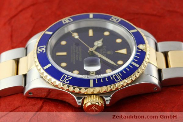Used luxury watch Rolex Submariner steel / gold automatic Kal. 3135 Ref. 16613  | 142572 05
