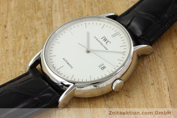 Used luxury watch IWC Portofino steel automatic Kal. 30110 Ref. 3533  | 142573 01