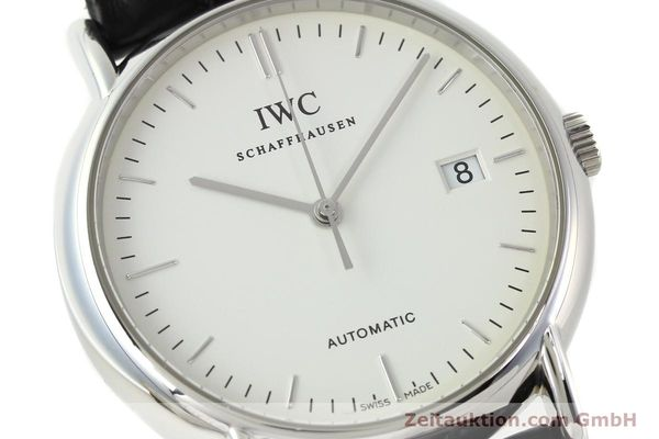 Used luxury watch IWC Portofino steel automatic Kal. 30110 Ref. 3533  | 142573 02
